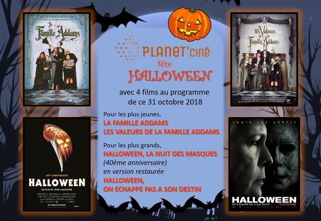 Halloween au Planet'ciné