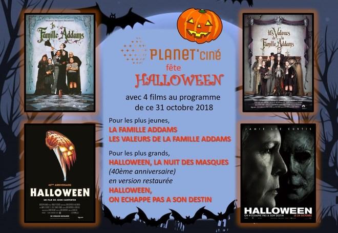 Halloween au Planet'ciné